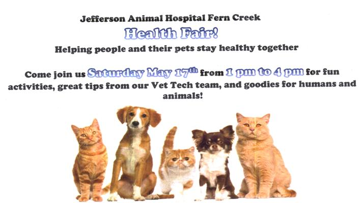 Jefferson Animal Hospital Fern Creek Health Fair