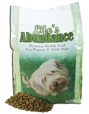 Life's Abundance Premium Health Food for Dogs and Puppies