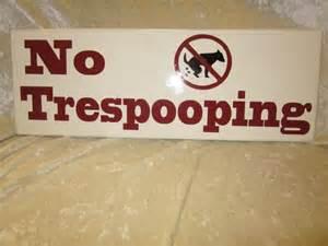 trespooping